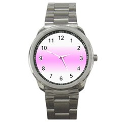 Decorative pattern Sport Metal Watch