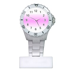 Decorative pattern Plastic Nurses Watch