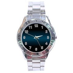 Decorative pattern Stainless Steel Analogue Watch