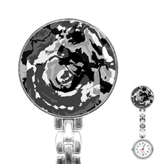 Abstract art Stainless Steel Nurses Watch