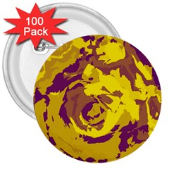 Abstract art 3  Buttons (100 pack)