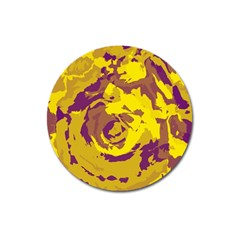 Abstract art Magnet 3  (Round)