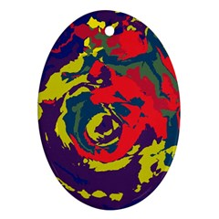 Abstract art Ornament (Oval)