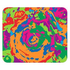 Abstract art Double Sided Flano Blanket (Small)