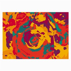 Abstract art Large Glasses Cloth