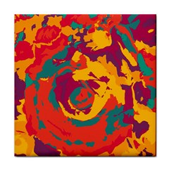 Abstract art Face Towel