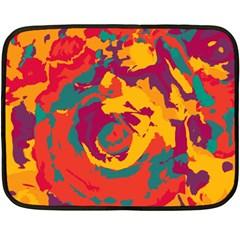 Abstract art Fleece Blanket (Mini)