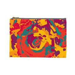 Abstract art Cosmetic Bag (Large)