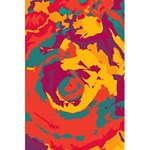 Abstract art 5.5  x 8.5  Notebooks Back Cover Inside