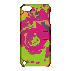 Abstract art Apple iPod Touch 5 Hardshell Case with Stand