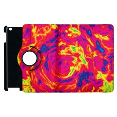 Abstract art Apple iPad 3/4 Flip 360 Case