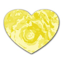 Abstract art Heart Mousepads