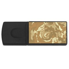 Abstract art USB Flash Drive Rectangular (4 GB)