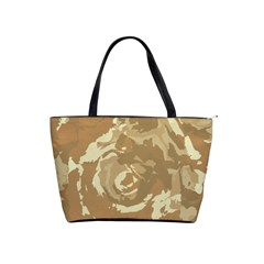 Abstract art Shoulder Handbags