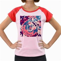 Abstract art Women s Cap Sleeve T-Shirt