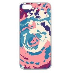 Abstract art Apple Seamless iPhone 5 Case (Clear)