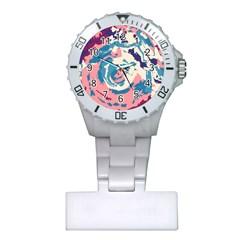 Abstract art Plastic Nurses Watch
