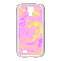 Abstract art Samsung GALAXY S4 I9500/ I9505 Case (White)