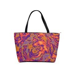 Abstract art Shoulder Handbags