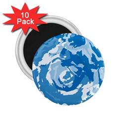 Abstract art 2.25  Magnets (10 pack)