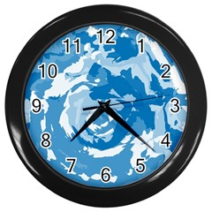 Abstract art Wall Clocks (Black)