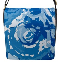 Abstract art Flap Messenger Bag (S)
