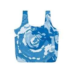 Abstract art Full Print Recycle Bags (S)
