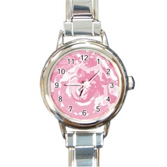 Abstract art Round Italian Charm Watch