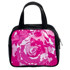 Abstract art Classic Handbags (2 Sides)