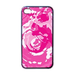 Abstract art Apple iPhone 4 Case (Black)