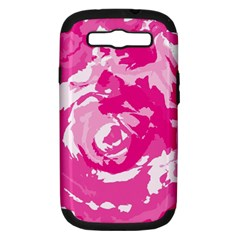 Abstract art Samsung Galaxy S III Hardshell Case (PC+Silicone)