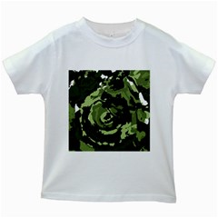 Abstract art Kids White T-Shirts
