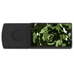 Abstract art USB Flash Drive Rectangular (2 GB)