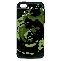 Abstract art Apple iPhone 5 Hardshell Case (PC+Silicone)