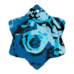 Abstract art Snowflake Ornament (Two Sides)