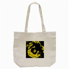 Abstract art Tote Bag (Cream)