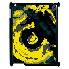 Abstract art Apple iPad 2 Case (Black)