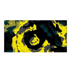 Abstract art Satin Wrap
