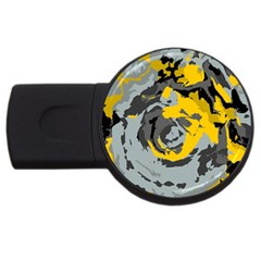 Abstract art USB Flash Drive Round (2 GB)