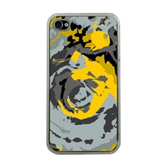 Abstract art Apple iPhone 4 Case (Clear)