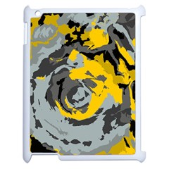 Abstract art Apple iPad 2 Case (White)