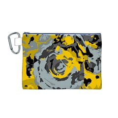 Abstract art Canvas Cosmetic Bag (M)