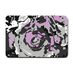 Abstract art Small Doormat