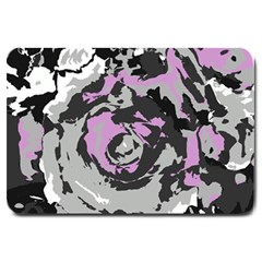 Abstract art Large Doormat