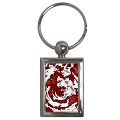 Abstract art Key Chains (Rectangle)