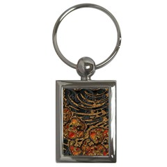 Unique Abstract Mix 1a Key Chains (Rectangle)