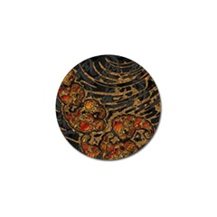 Unique Abstract Mix 1a Golf Ball Marker (4 pack)