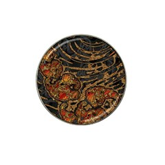 Unique Abstract Mix 1a Hat Clip Ball Marker