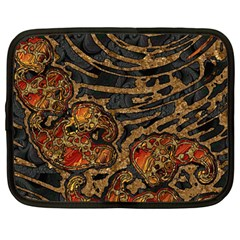 Unique Abstract Mix 1a Netbook Case (Large)
