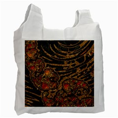 Unique Abstract Mix 1a Recycle Bag (Two Side)
